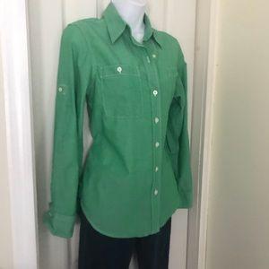 Ralph Lauren Jeans Company medium green shirt